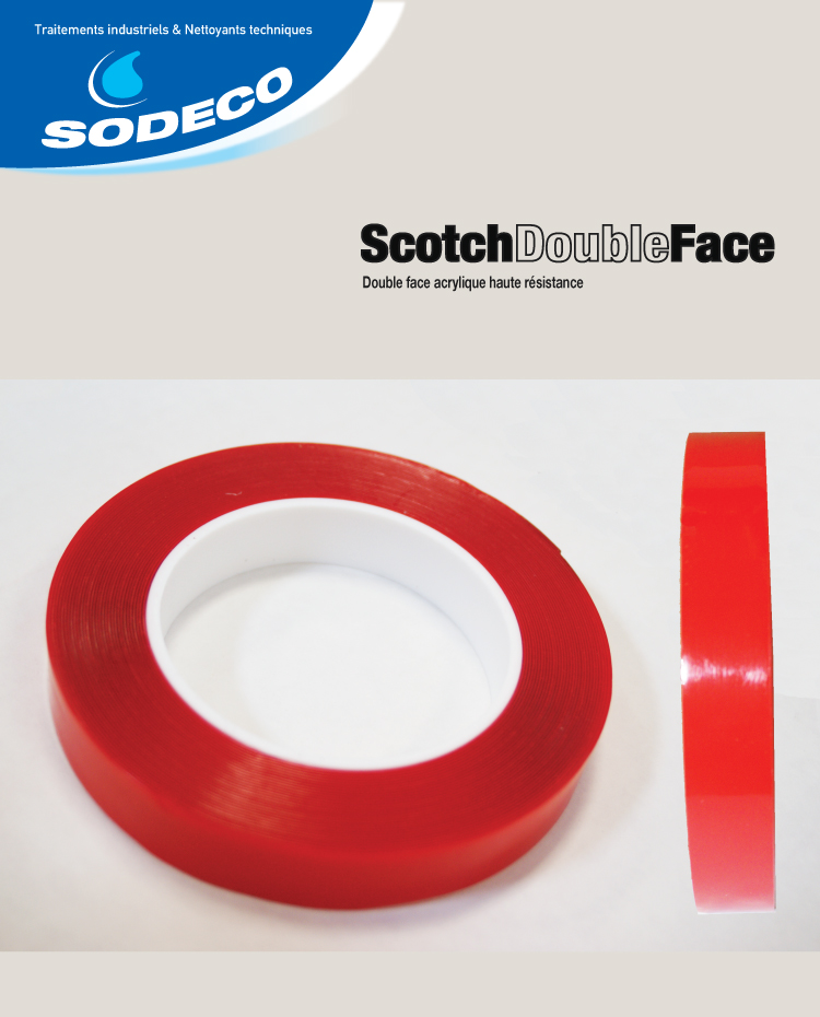 Scotch double face b042 sodeco sa - Scotch double face castorama ...